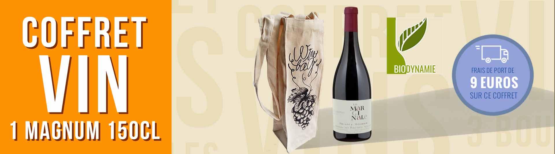 Coffret cadeau vin 1 Magnum Saumur-Champigny