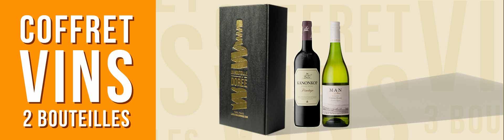 Coffret vin Afrique du Sud 2 bouteilles
