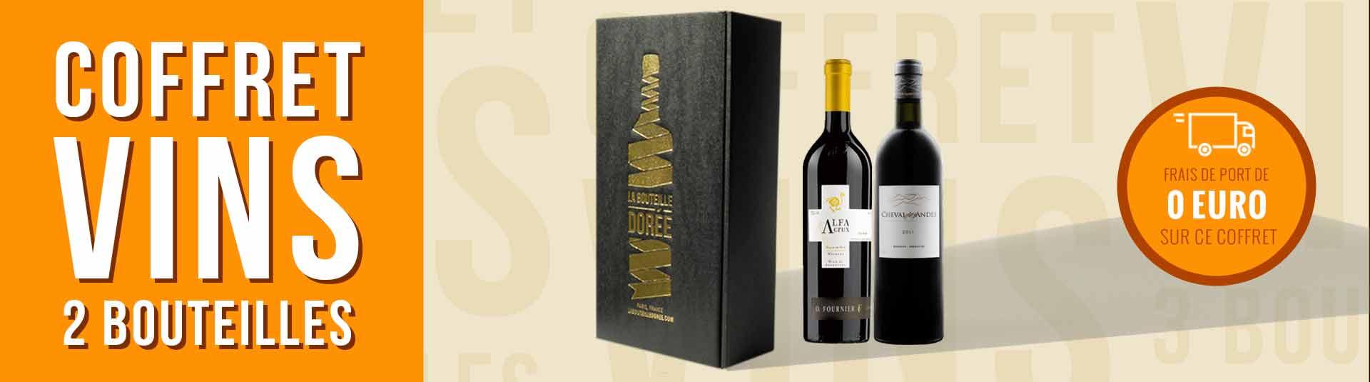 Coffret vin Argentine Grands Crus 2 bouteilles
