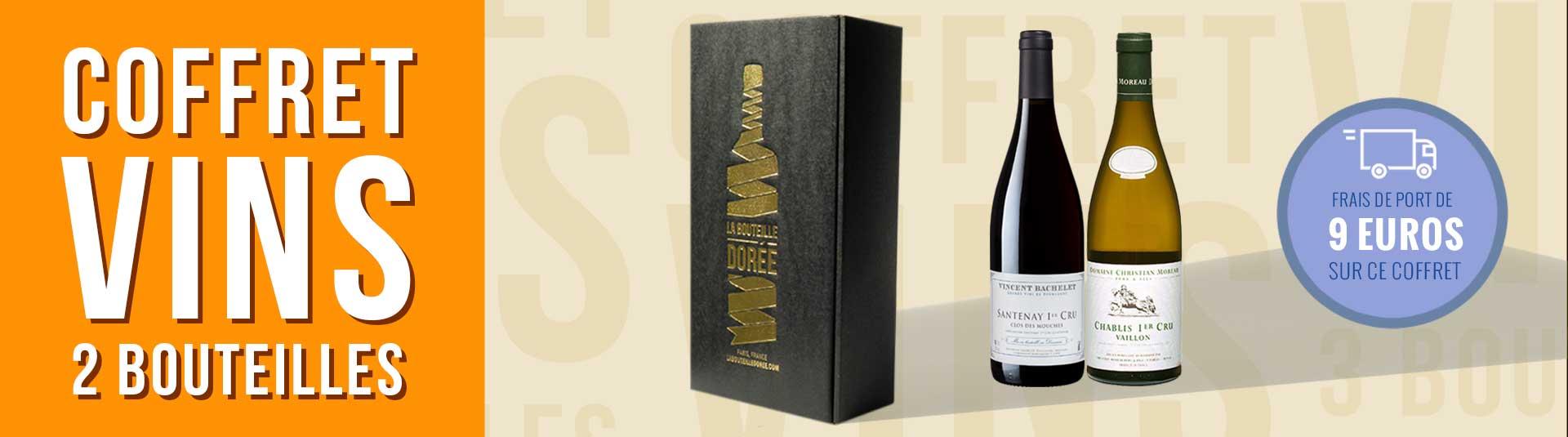 Coffret vin Bourgogne 1er Cru Découverte
