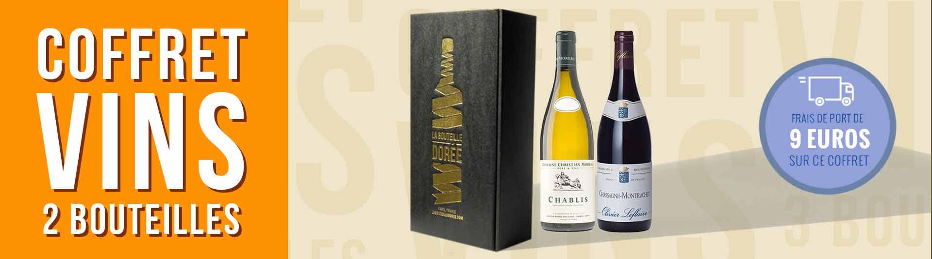 Coffret vin Bourgogne Découverte