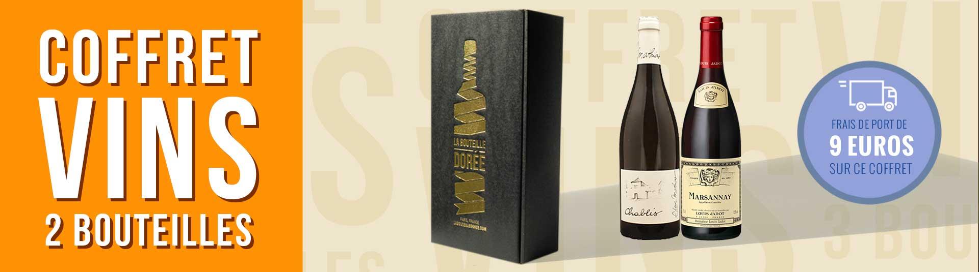 Coffret vin Bourgogne Découverte 2 bouteilles