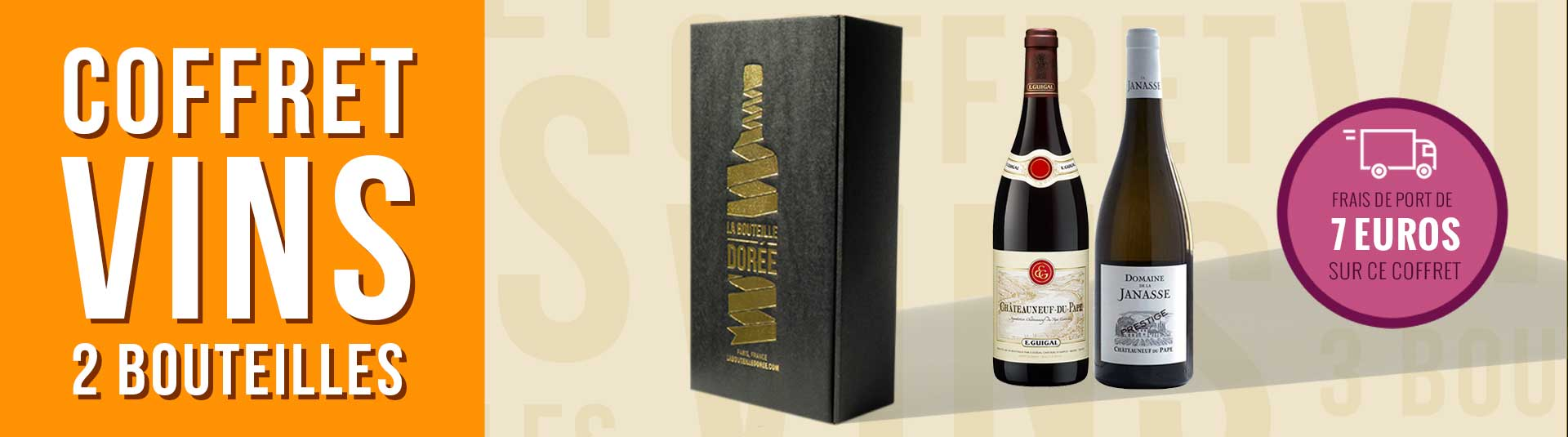 Coffret vin Châteauneuf-du-Pape Passion