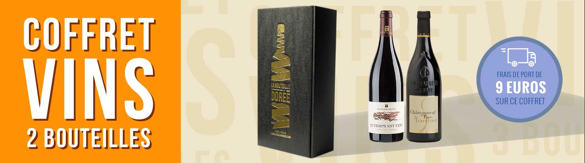 coffret vin Rhône Cépage Grenache 2 bouteilles