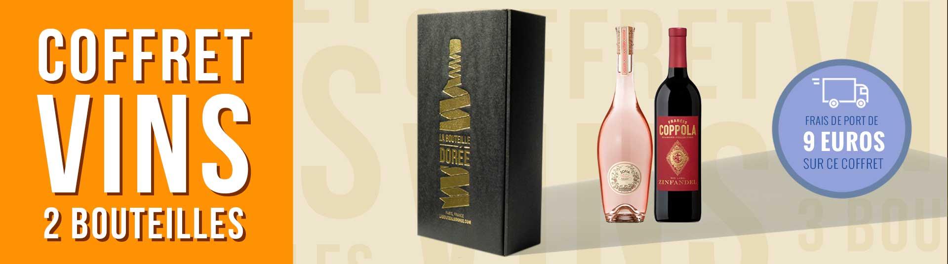 Coffret vin USA Francis Ford Coppola 2 bouteilles