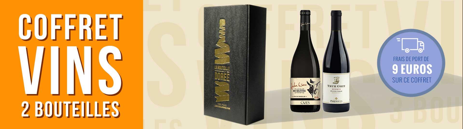 Coffret vin Western 2 bouteilles