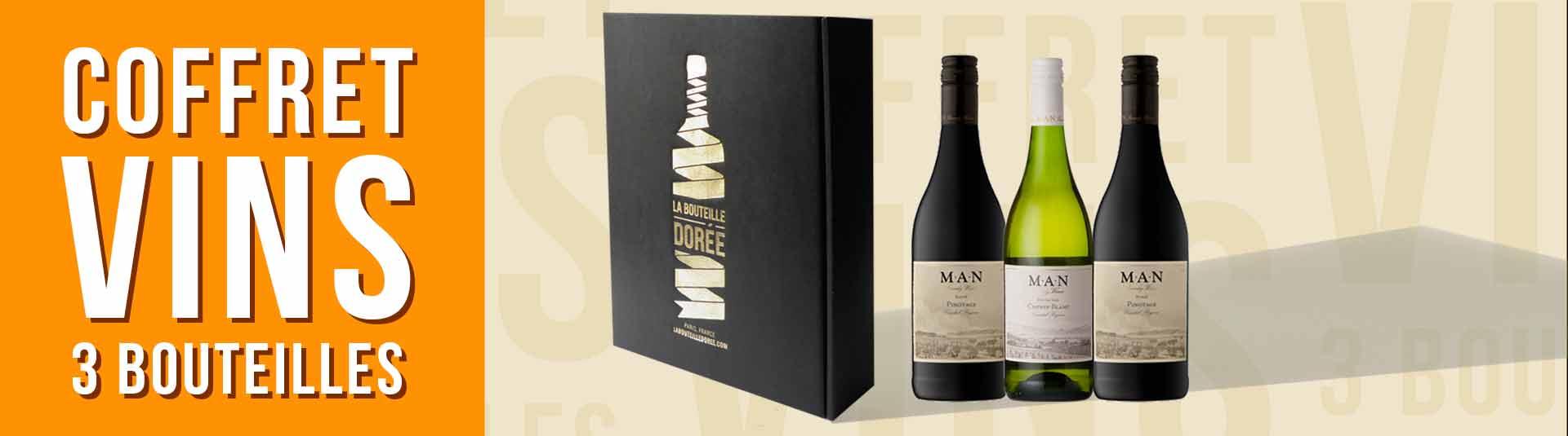 Coffret vin Afrique du Sud 3 bouteilles