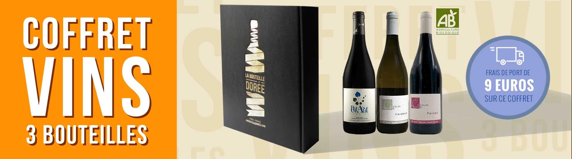 Cépages rares - Coffret vin BIO 3 bouteilles