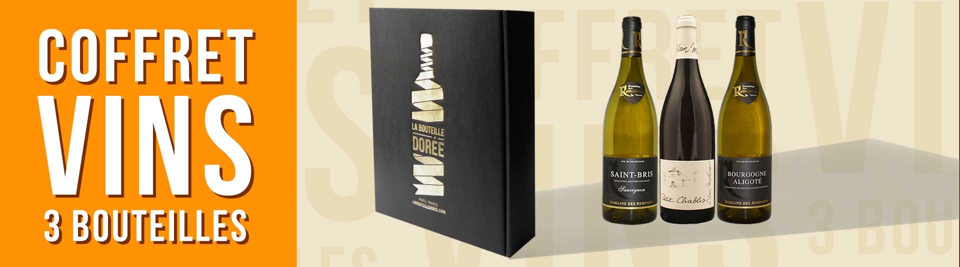 Coffret vin blanc Bourgogne Découverte