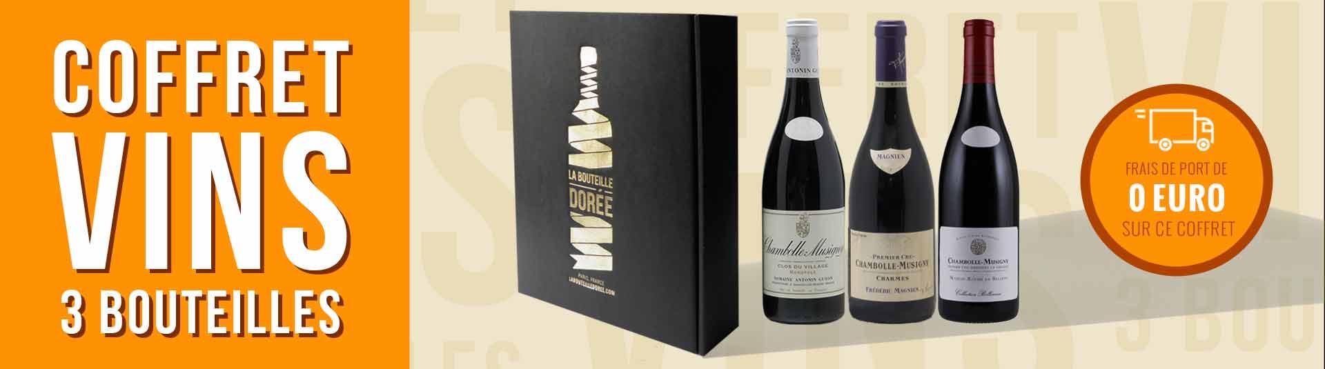 Coffret vin Bourgogne Prestige Chambolle-Musigny