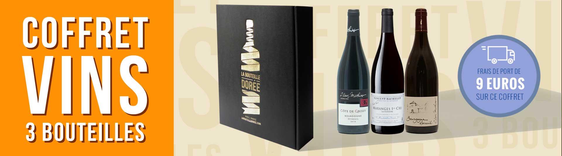 Coffret vin rouge Bourgogne Découverte