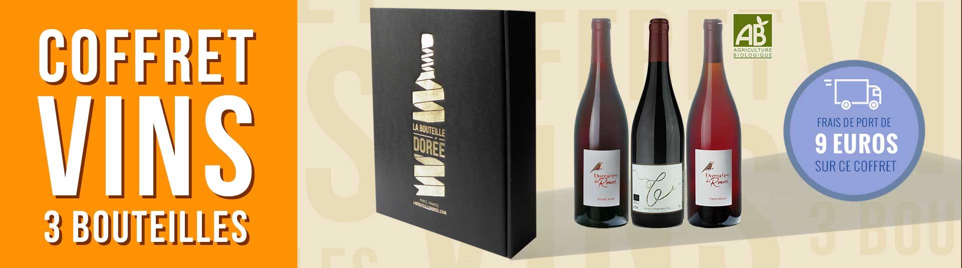 Coffret vin rouge Jura 3 bouteilles
