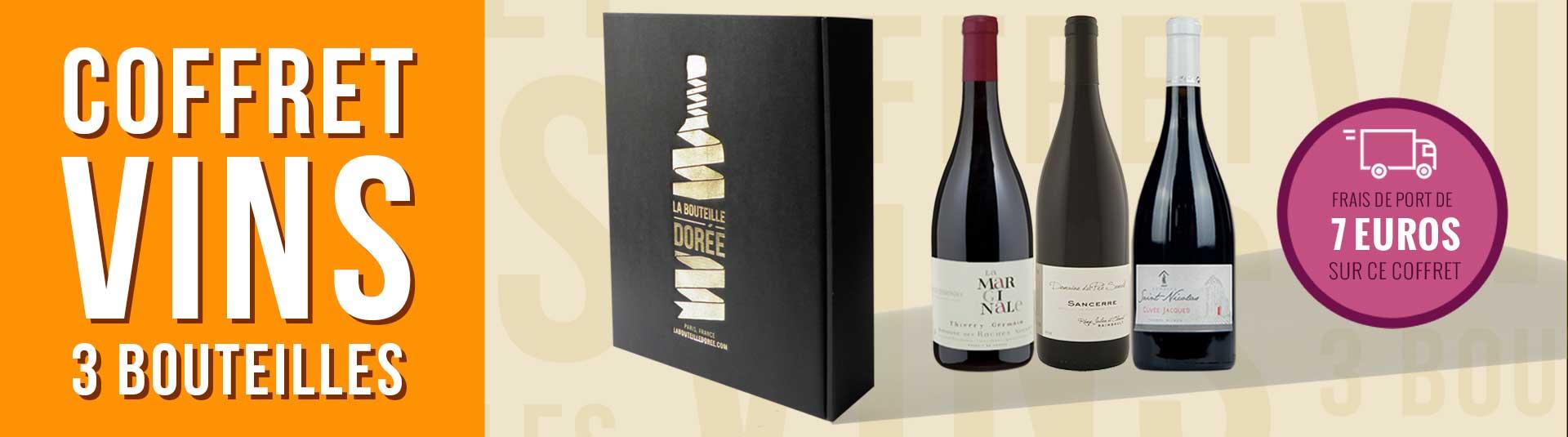 Coffret vin rouge Loire 3 bouteilles