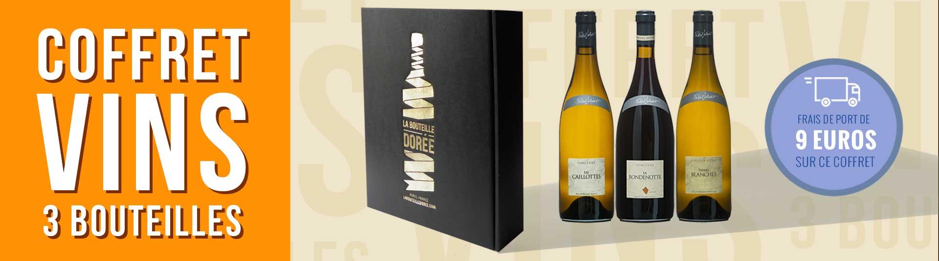 Coffret vin Loire 3 bouteilles Sancerre Pouilly-Fumé