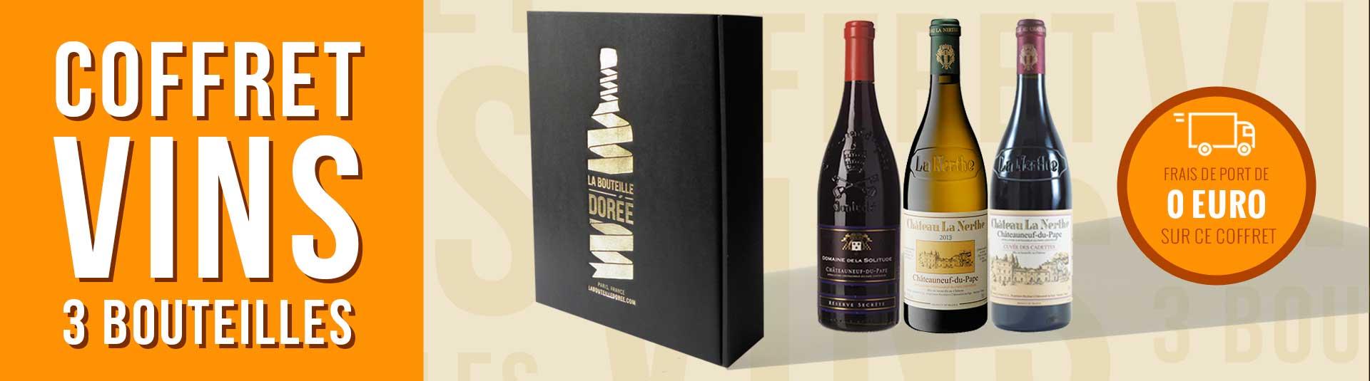 Coffret vin Châteauneuf-du-Pape Découverte