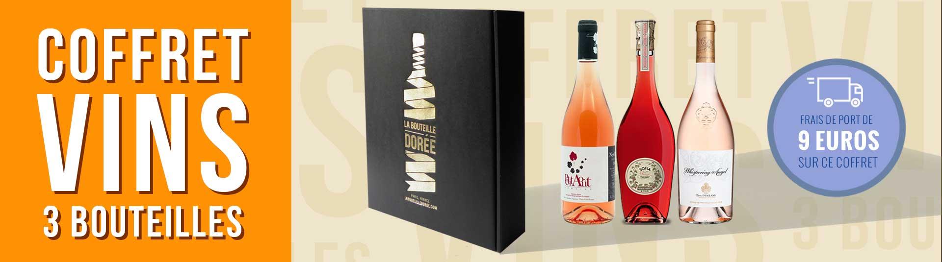 Coffret Passion vins rosés 3 bouteilles