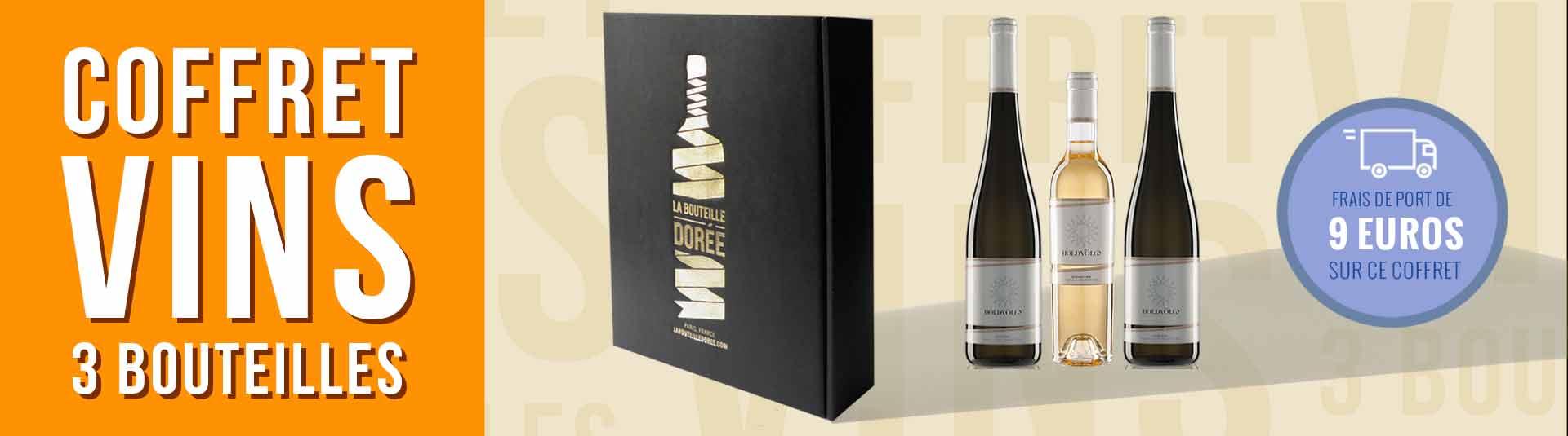 Coffret vin Tokaj Hongrie Découverte 3 bouteilles