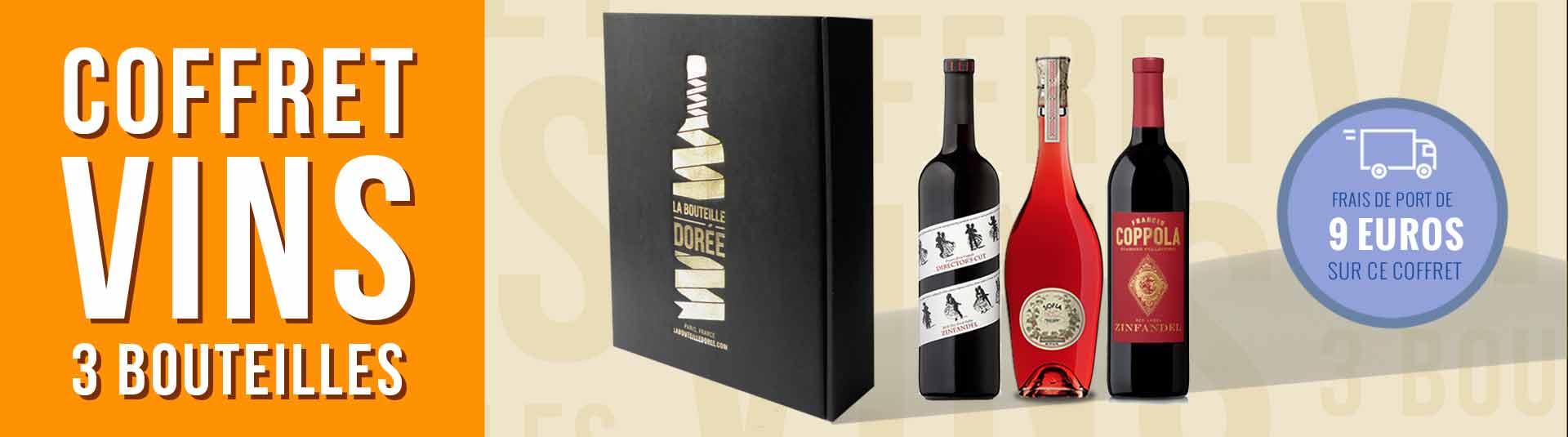 Coffret 3 bouteilles Francis et Sofia Coppola
