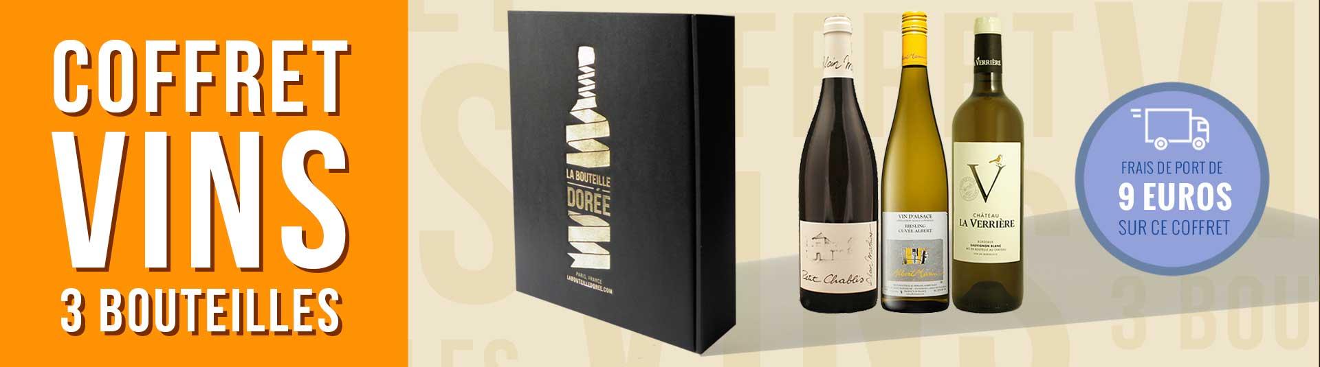 Coffret vin blanc Découverte 3 bouteilles