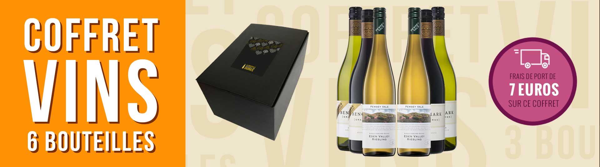 Coffret vin Australie 6 bouteilles