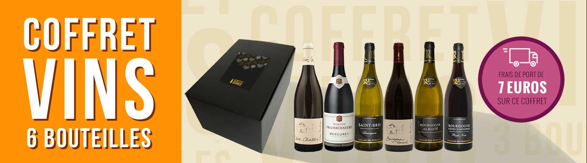 Coffret vin Bourgogne 6 bouteilles
