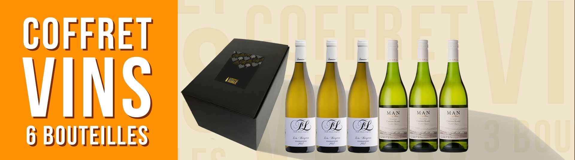 Coffret vin cépage Chenin 6 bouteilles