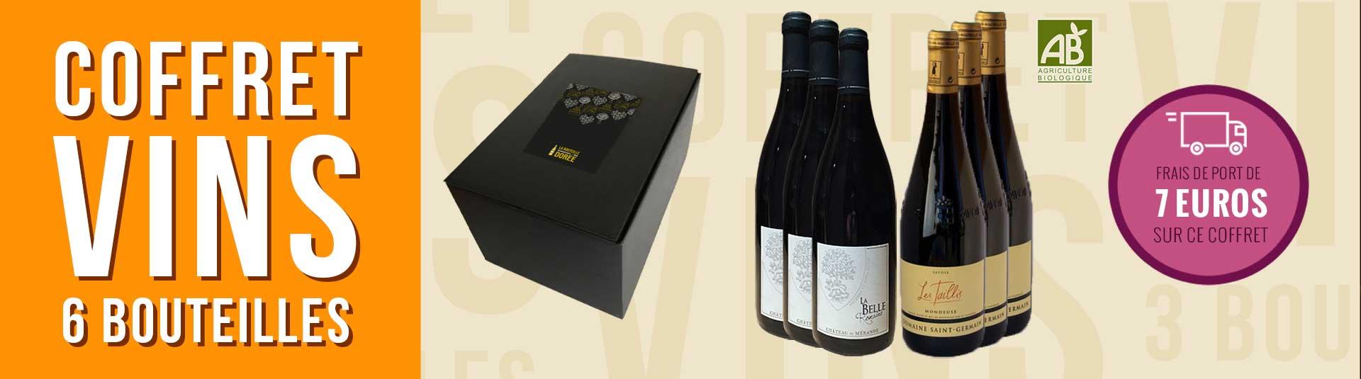 Coffret vin Mondeuse Savoie 6 bouteilles