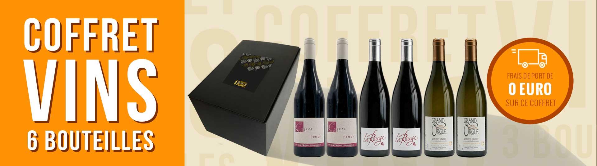 Coffret vin Savoie 6 bouteilles