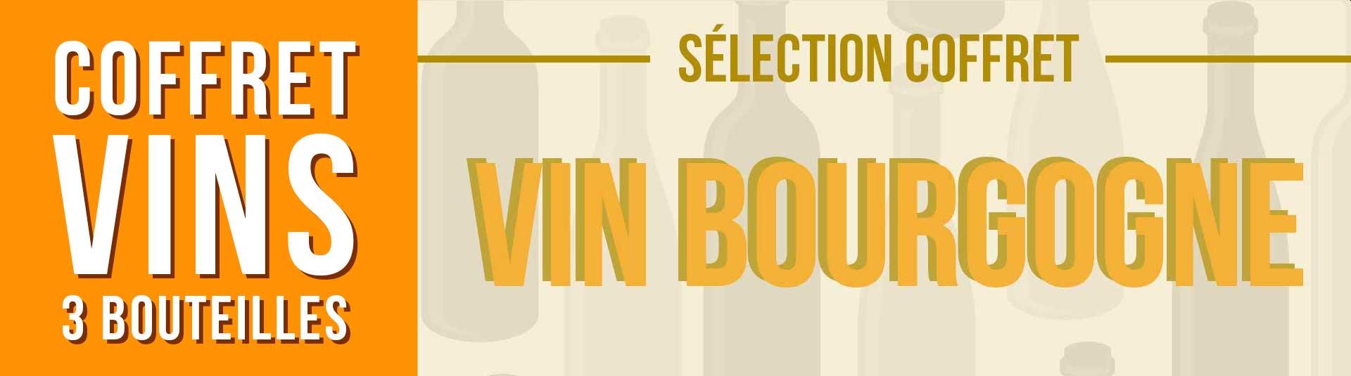 Coffret vin blanc Bourgogne Sélection 3 bouteilles