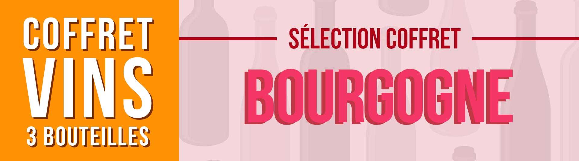 Coffret vin rouge Bourgogne Sélection 3 bouteilles