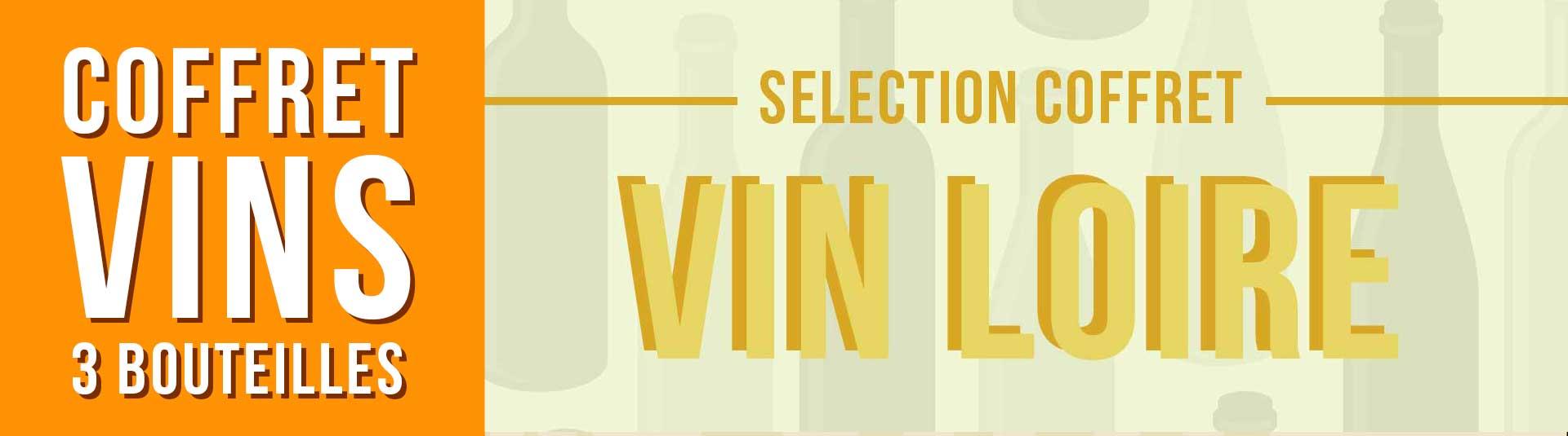Coffret vin Loire Sélection 3 bouteilles