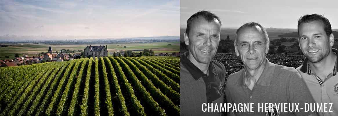 Champagne Hervieux-Dumez, Champagne 1er Cru de la Montagne de Reims