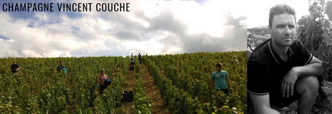 Champagne Vincent Couche en biodynamie en vente chez La Bouteille Dorée