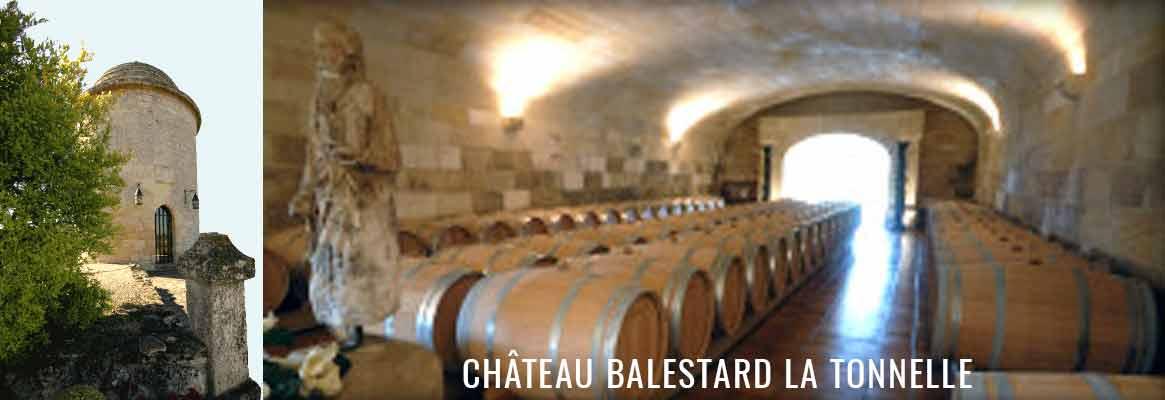 Château Balestard La Tonnelle Saint-Emilion Grand Cru Classé