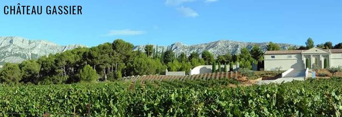 Château Gassier, vins rosés en appellation Côtes-de-Provence Sainte-Victoire