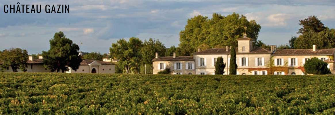 Château Gazin, grands vins de Pomerol