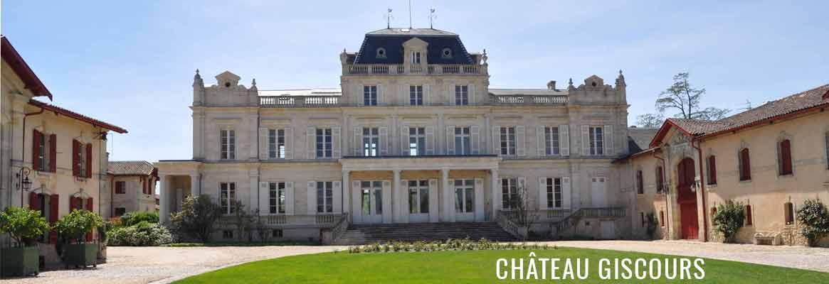 Château Giscours 3ème grand cru classé de Margaux