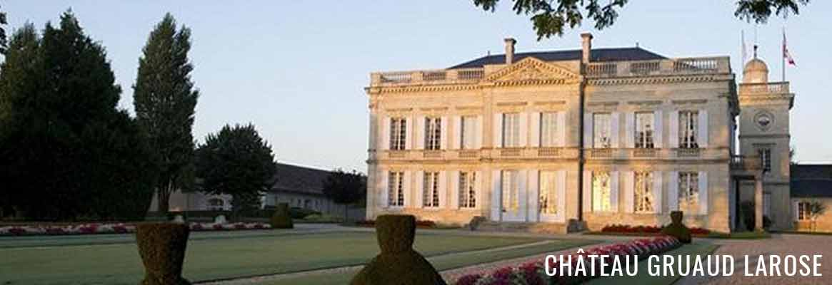 Château Gruaud Larose, grand cru classé, grands vins de Saint-Julien