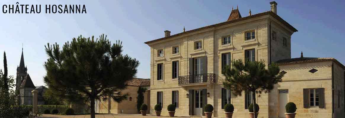 Château Hosanna, Château Certan-Giraud, grands vins de Pomerol