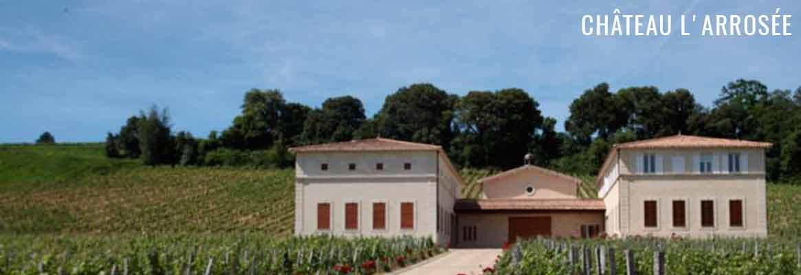 Château L'Arrosée Saint-Emilion Grand Cru Classé