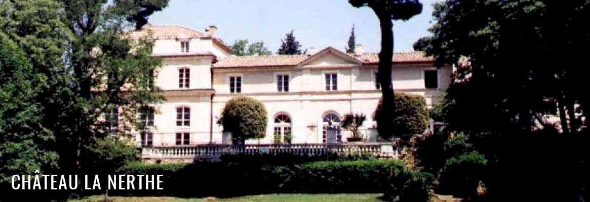 Château La Nerthe, grands vins de Châteauneuf-du-Pape