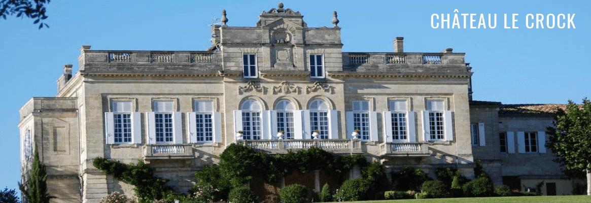 Vins de Château Le Crock et Château La Croix Saint-Estèphe