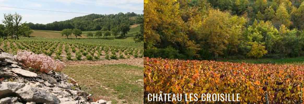 Château Les Croisille, vins de Cahors issus du cépage Malbec