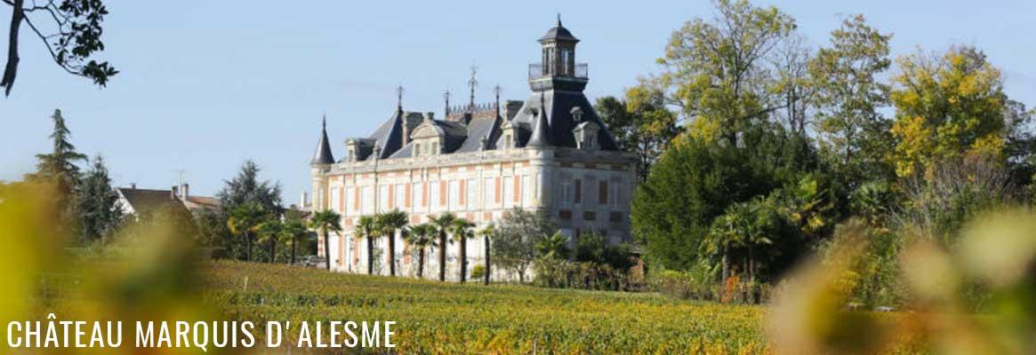 Château Marquis d'Alesme Margaux 3ème grand cru classé
