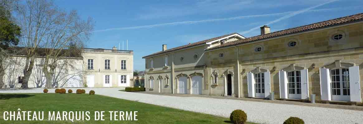 Château Marquis de Terme 4ème grand cru classé de Margaux