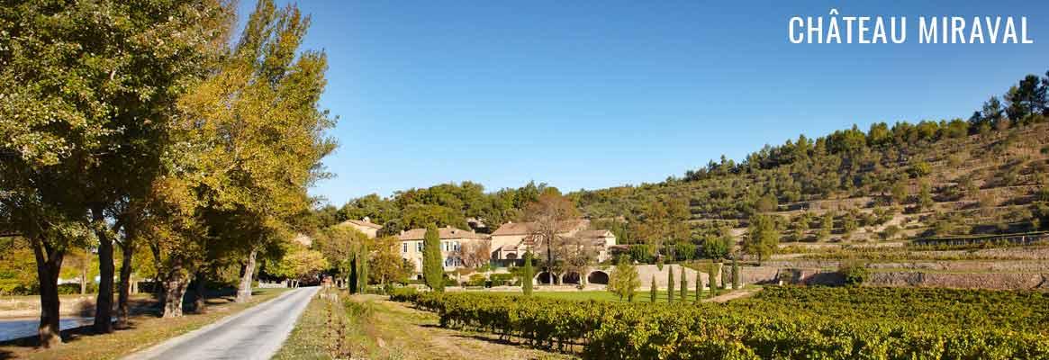 Château Miraval, grands vins rosés en Côtes-de-Provence