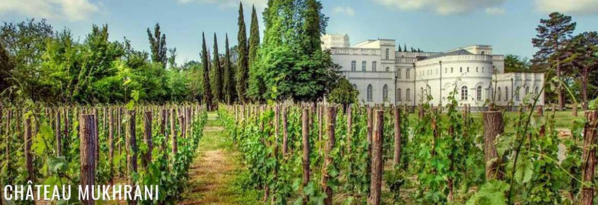 Château Mukhrani, grands vins de Géorgie