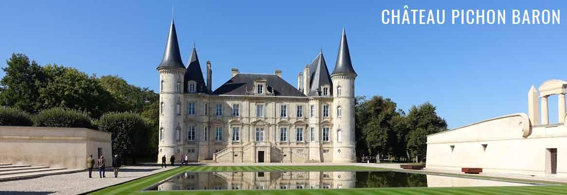 Château Pichon Baron Longueville 2ème Grand Cru Classé de Pauillac