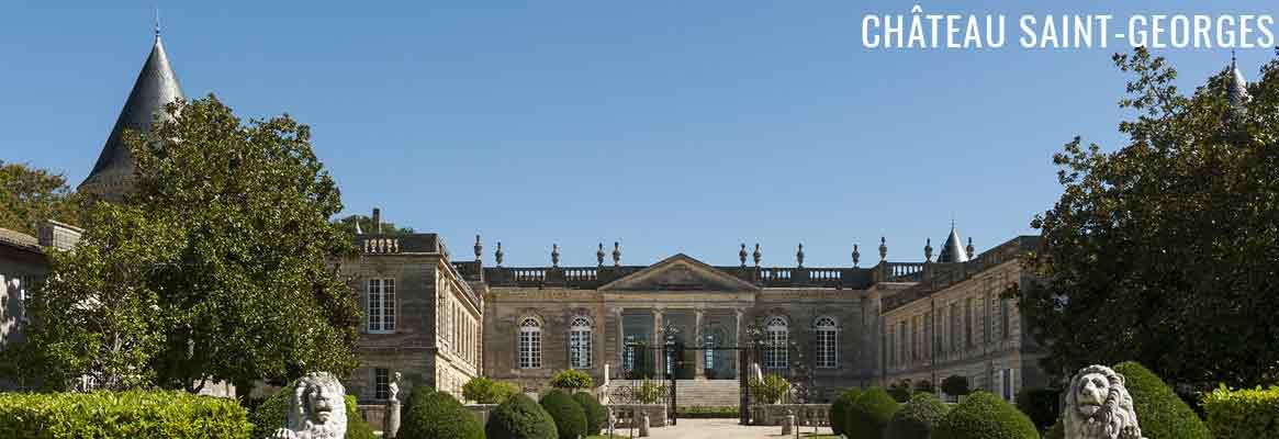 Château Saint-Georges, grands vins de Saint-Georges-Saint-Emilion, plus petite appellation de Bordeaux