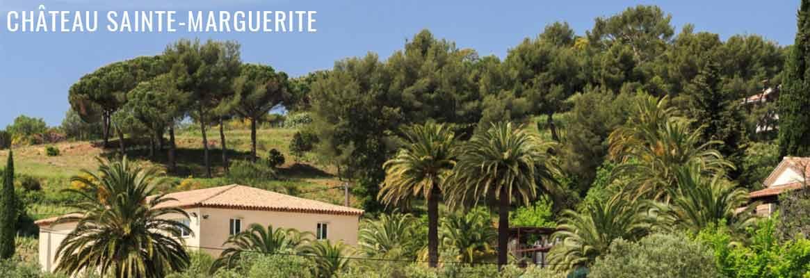 Château Sainte Marguerite Cru Classé, grands vins rosés, blancs et rouges en Côtes-de-Provence